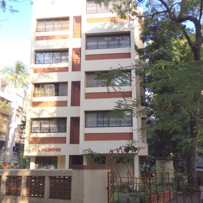 Flat on rent in Sea Glimpse, Bandra West