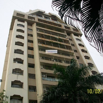Flat on rent in La Mer, Bandra West