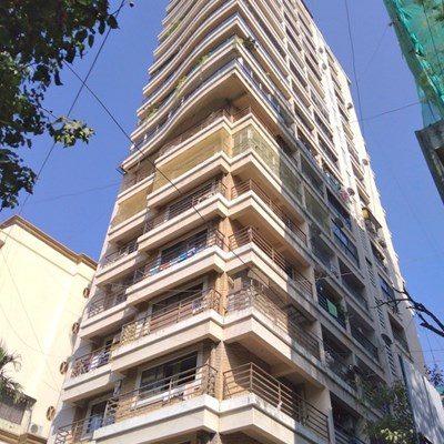 Flat on rent in Virgo Heights, Khar West