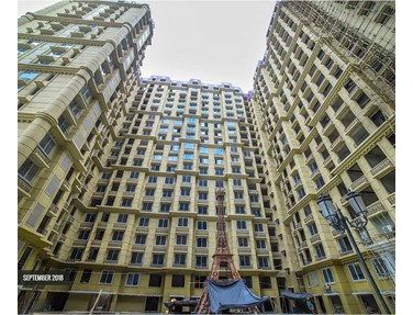 Flat on rent in Kanakia Paris, Bandra Kurla Complex