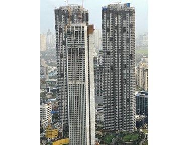 Flat on rent in Lodha The Park, Lower Parel