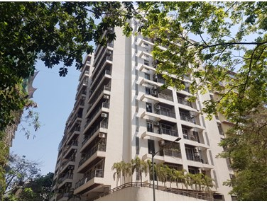 Flat on rent in DLH Square, Juhu