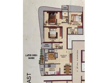 Flat on rent in HDIL Metropolis, Andheri West