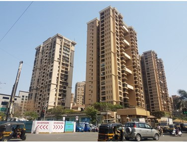 Flat on rent in Raheja Classique, Andheri West