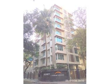 Flat on rent in Supreme Signet, Khar West