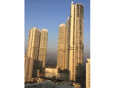 Flat on rent in Crescent Bay, Parel