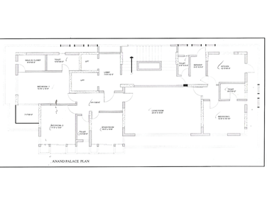 Floor Plan - Anand Palace, Bandra West