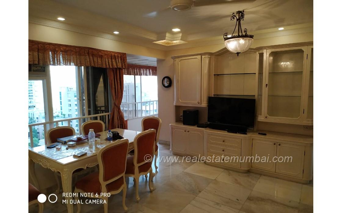 Living Room1 - Silver Cascade, Bandra West