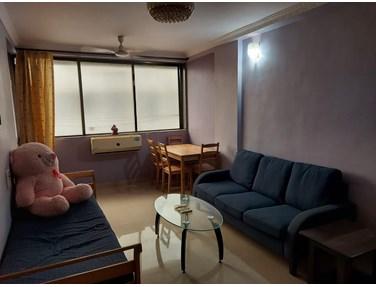 Living Room - Usha Sadan, Colaba