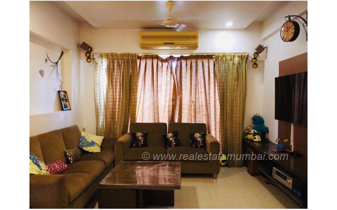 Living Room - Om Viraj, Andheri West