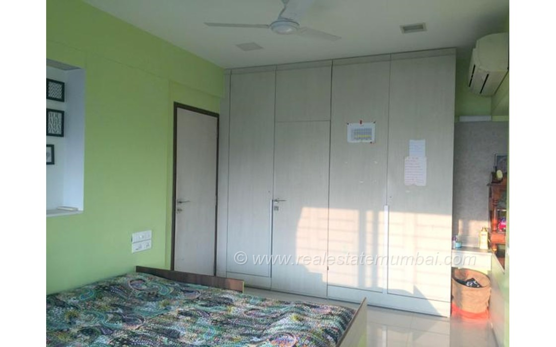 Bedroom 2 - Jagat Vidya, Bandra Kurla Complex