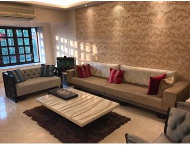 Living Room - Mangal Swagat, Bandra West