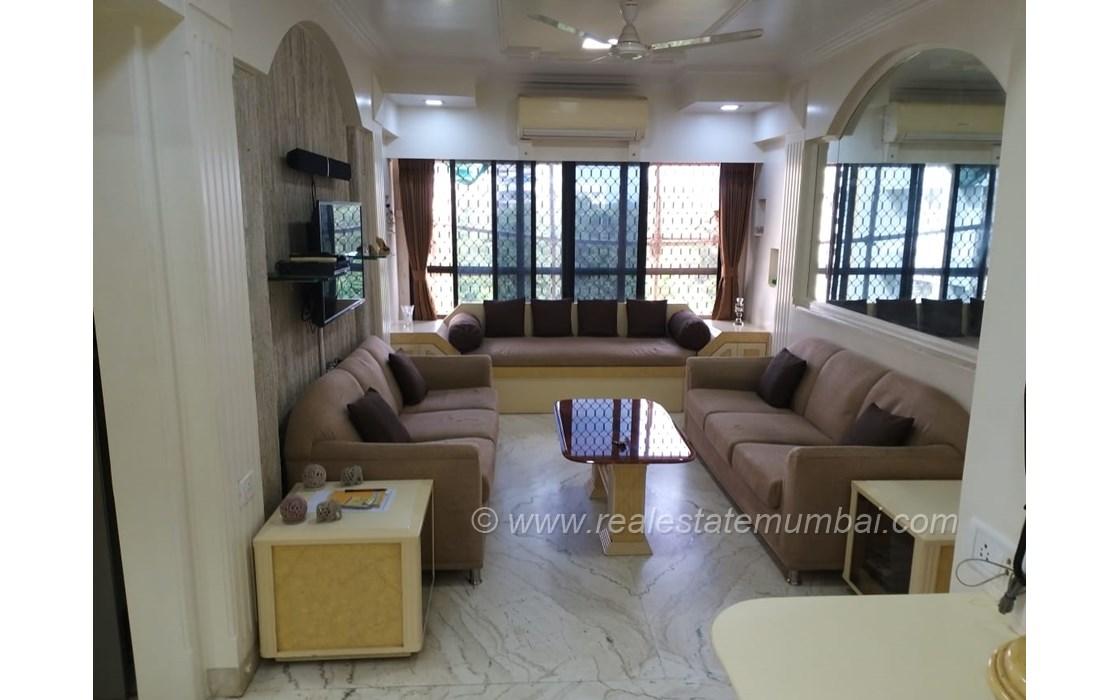 Living Room1 - Silver Croft, Andheri West
