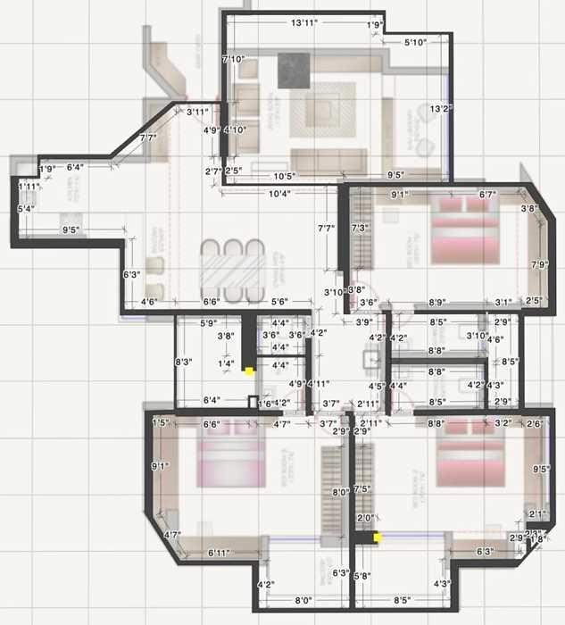 Floor Plan - Stellar Tower, Andheri West