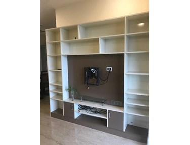 Living Room1 - Rustomjee Oriana, Bandra East