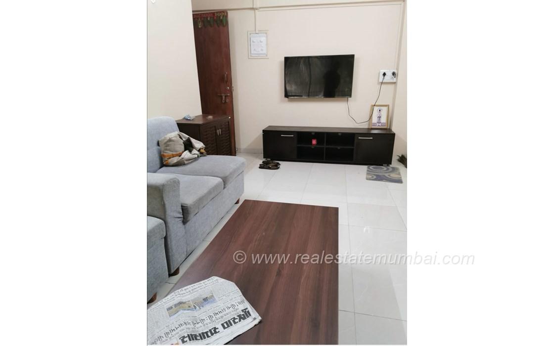 Living Room - Noorani Apartment, Bandra West