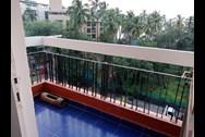 Balcony - Sea Queen, Juhu