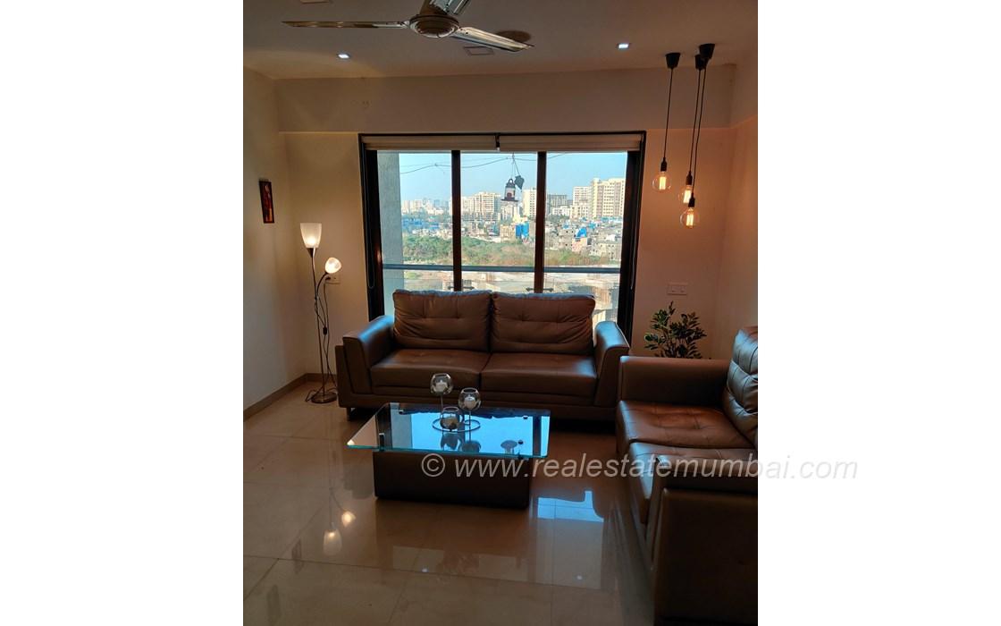 Living Room - JP Chalet Amar, Juhu