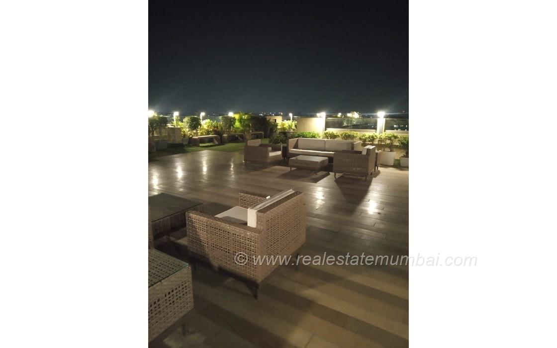Terrace - JP Chalet Amar, Juhu