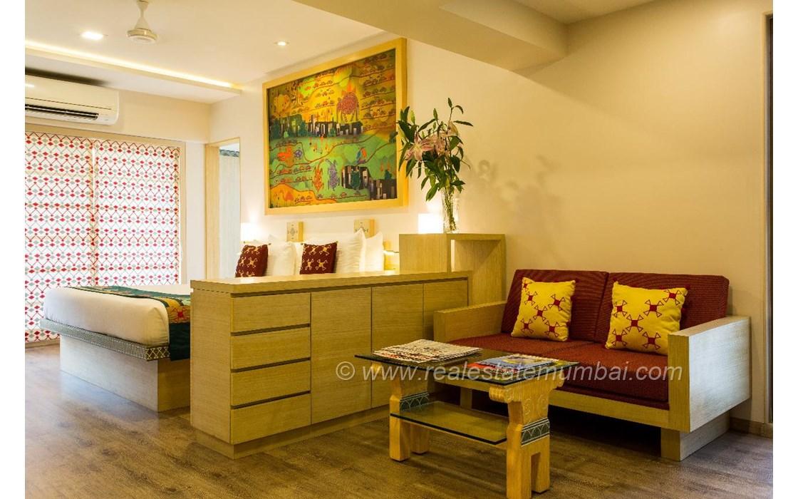 Living Room - 30 Union Park, Bandra West