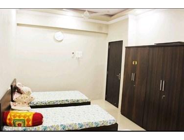 Bedroom 2 - Vijaya Building, Juhu