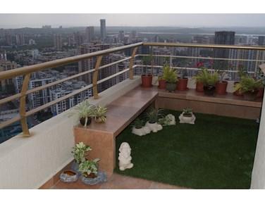 Balcony - Miramar CHS, Prabhadevi