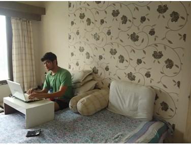 Bedroom 2 - Lekha CHS, Andheri West