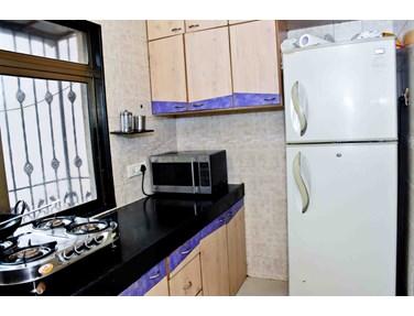 Kitchen - Grace Residency, Bandra West