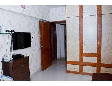 Living Room - Grace Residency, Bandra West