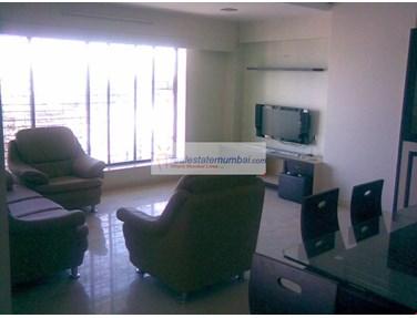 Living Room - Aquarius Tower, Bandra West
