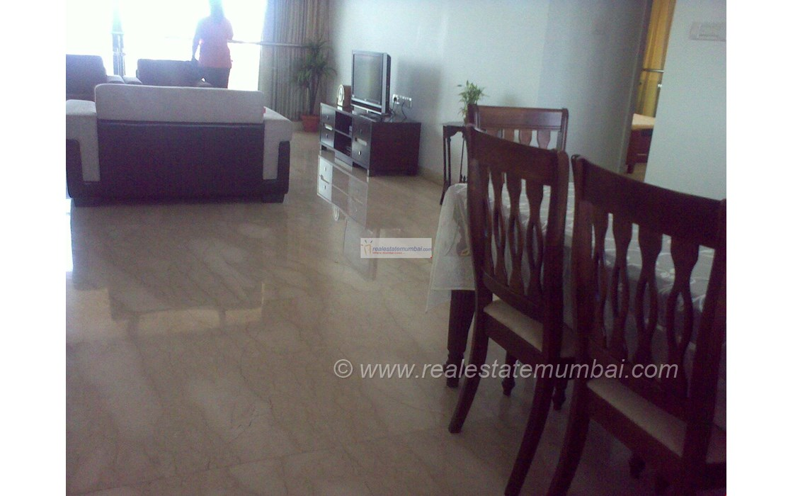 Living Room - Kalpataru Horizon, Worli