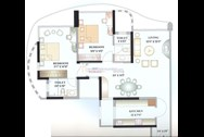 Floor Plan2 - Kalpataru Horizon, Worli
