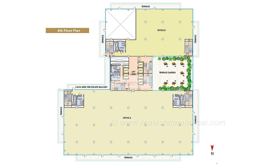 Floor Plan3 - Cnergy, Prabhadevi