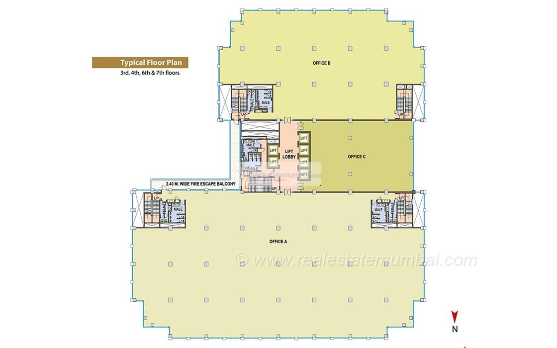 Floor Plan4 - Cnergy, Prabhadevi