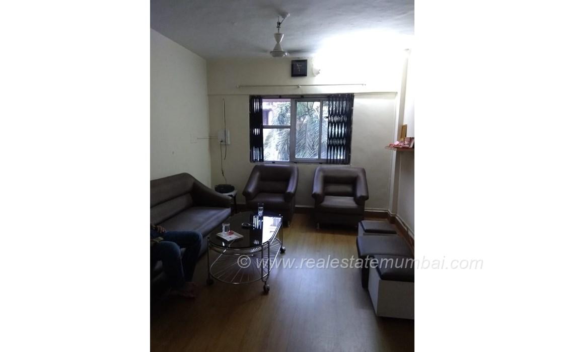 Living Room1 - Pooja Apartments, Khar West