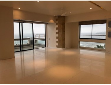 Living Room - Jivesh Terraces, Bandra West